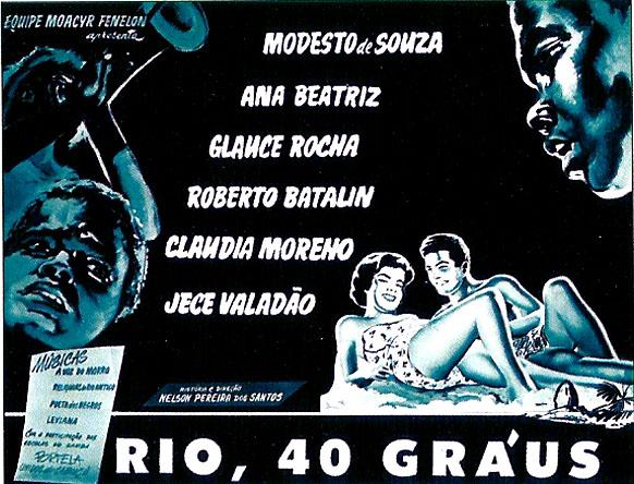 O cartaz de Rio, 40 graus está disponível em ... f84bfa960b